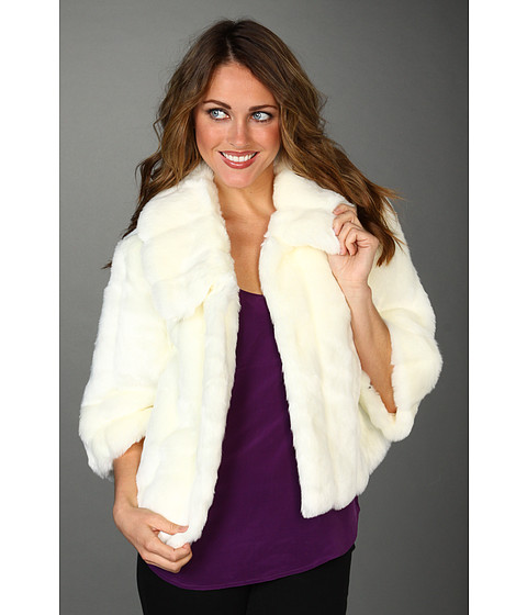 Calvin Klein Faux Rabbit Fur Jacket | $138