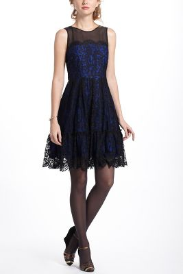 Sapphire Lace Dress