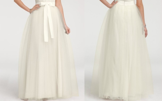 ann taylor tulle ball skirt