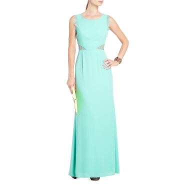 BCBG Karey Lace Detail Evening Gown | $338
