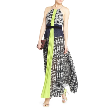 BCBG Constantine Pleated Maxi Dress | $448