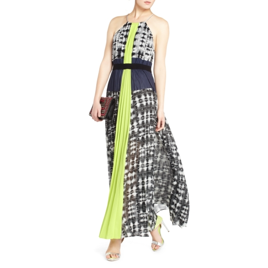 BCBG Constantine Pleated Maxi Dress | $448