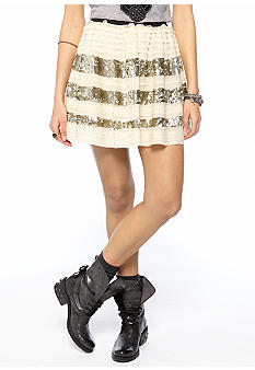 Free People Sparkle and Stripe Skirt | $64 (on sale from $128)
