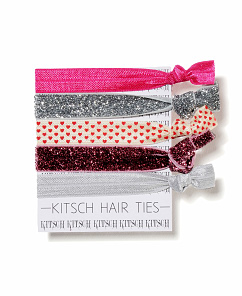 Kitsch Hair Ties at South Moon Under | $14.95 for five
