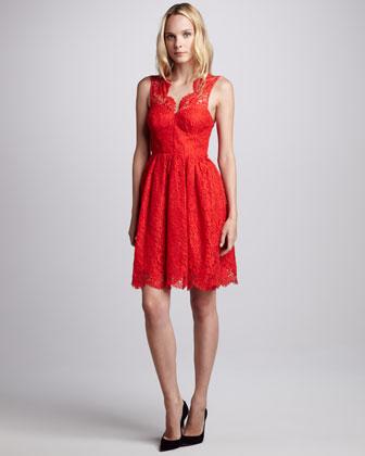 Amanda Uprichard Lace Dress from Cusp | $159 (on sale)