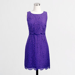 FactoryLaceShiftDress