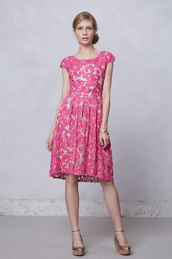 Anthropologie Jardim Lace Dress | $298