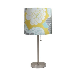 Room Essentials Stick Lamp with Flower Print | $21.99