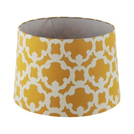 Threshold Flocked Large Yellow Lampshade | $19.99