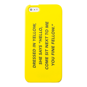 I Phone 5 Case in Fine Fellow | $25
