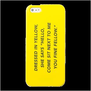I Phone 5 Case in Fine Fellow | $25