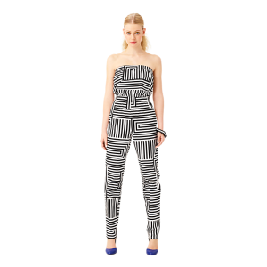 Jump Around Jumpsuit in Zig Zag | $150