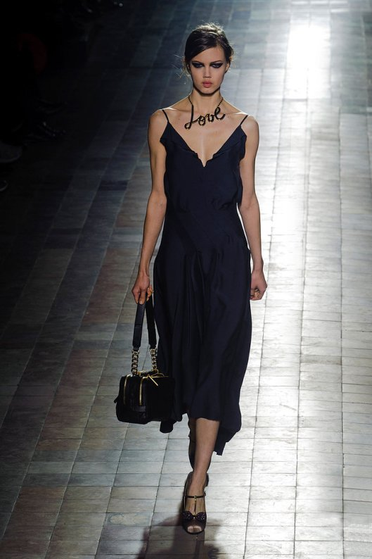 Lanvin 2013 Fall Runway at Paris Fashion Week