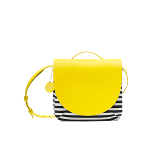 Top Handle Small Satchel in Stripe | $140