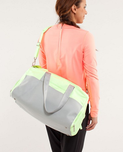 Yoga On the Run Duffel | $118