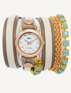 La Mer St. Tropez Chandelier Crystal Chain Watch | $180