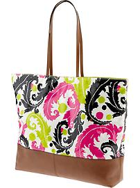 Milly Collection Coated Tote | $130