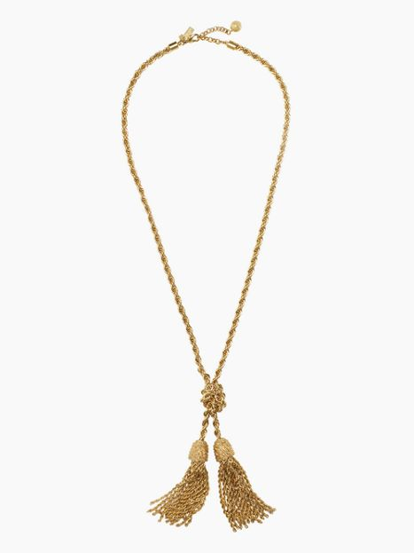 Fringe Benefits Necklace $99 (originally $228)