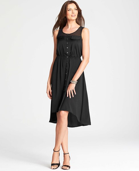 HighLowHemShirtdress