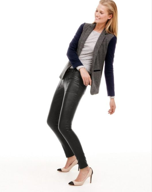 JCrewLeatherLeggings